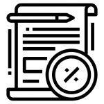 Loan Term Sheet Icon