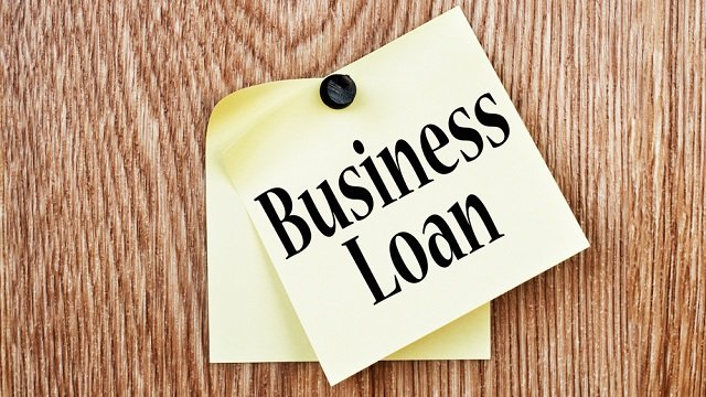 Types Of Business Loans Sticky Note